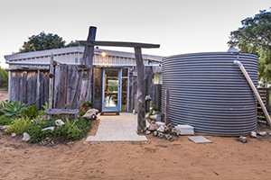 Injidup beach shack